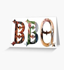 Dymond Speers BBQ Greeting Card