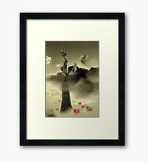 Misty Dream Framed Print
