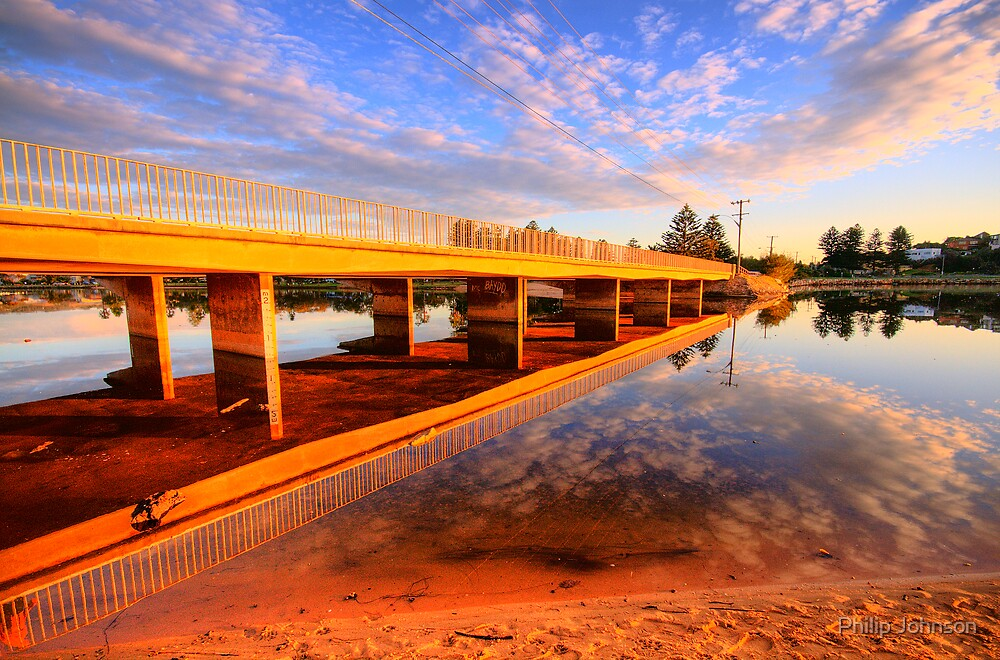 Mirror - Narrabeen Lakes, Sydney Australia - The HDR Experience by Philip Johnson