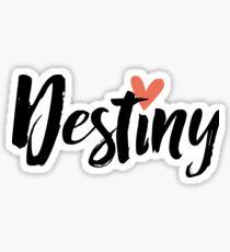 Destiny ♥ Sticker