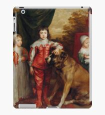 Five Eldest Children of Charles I 1637 Anthony van Dyck iPad Case/Skin