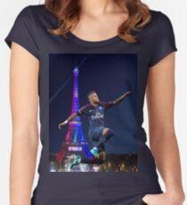 neymar PSG - hop Women's Fitted Scoop T-Shirt
