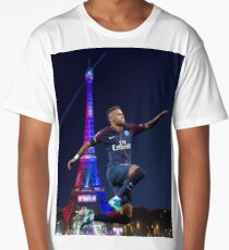 neymar PSG - hop Long T-Shirt
