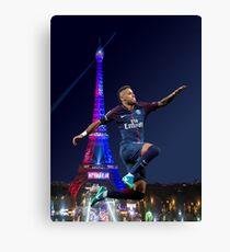 neymar PSG - hop Canvas Print