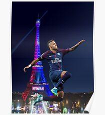 Neymar PSG - Hopfen Poster
