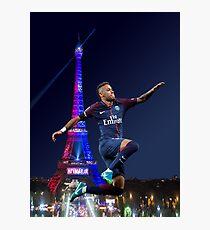neymar PSG - hop Photographic Print