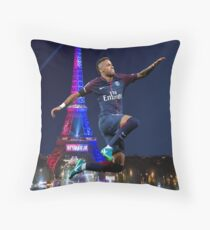 neymar PSG - hop Throw Pillow