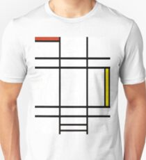 Composition in White, Red, and Yellow by Piet Mondrian T-Shirt