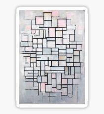 Piet Mondrian - Composition No.IV, 1914 Sticker