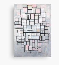 Piet Mondrian - Composition No.IV, 1914 Canvas Print