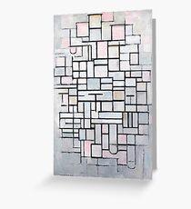 Piet Mondrian - Composition No.IV, 1914 Greeting Card