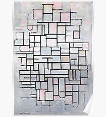 Piet Mondrian - Composition No.IV, 1914 Poster