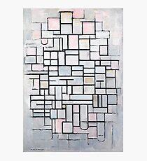 Piet Mondrian - Composition No.IV, 1914 Photographic Print