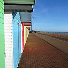 English Beach Hut Perspective by HarryMoonbeam