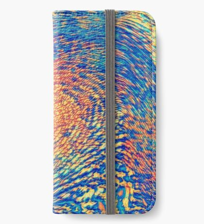 Abstract Wave iPhone Wallet