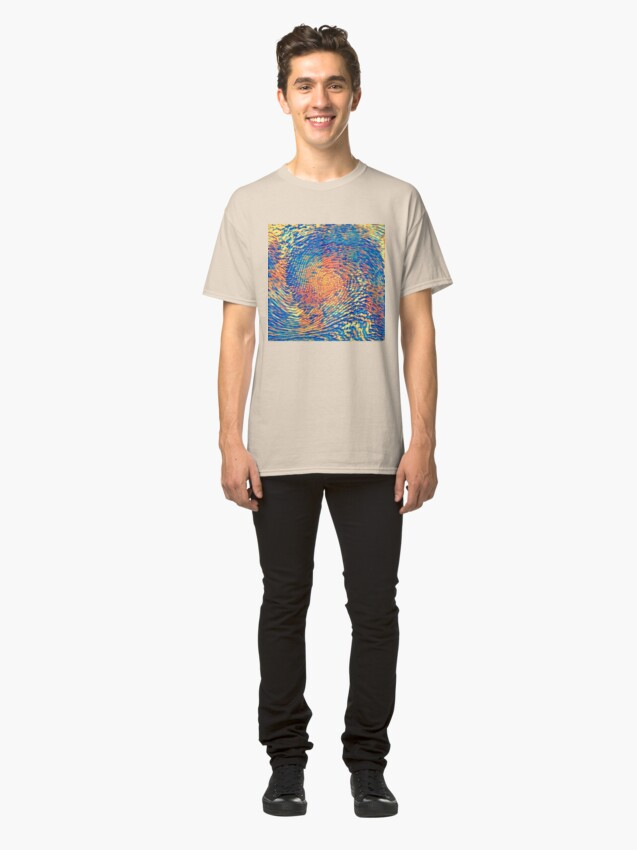 Alternate view of Abstract Wave Classic T-Shirt