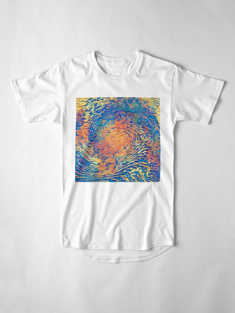 Alternate view of Abstract Wave Long T-Shirt