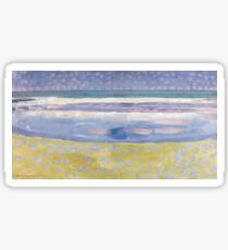 Sea after sunset by Piet Mondrian, 1909 Sticker