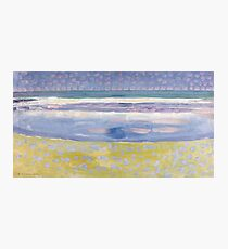 Sea after sunset by Piet Mondrian, 1909 Photographic Print