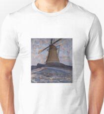 Piet Mondrian - Windmill, 1917 T-Shirt