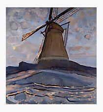 Piet Mondrian - Windmill, 1917 Photographic Print