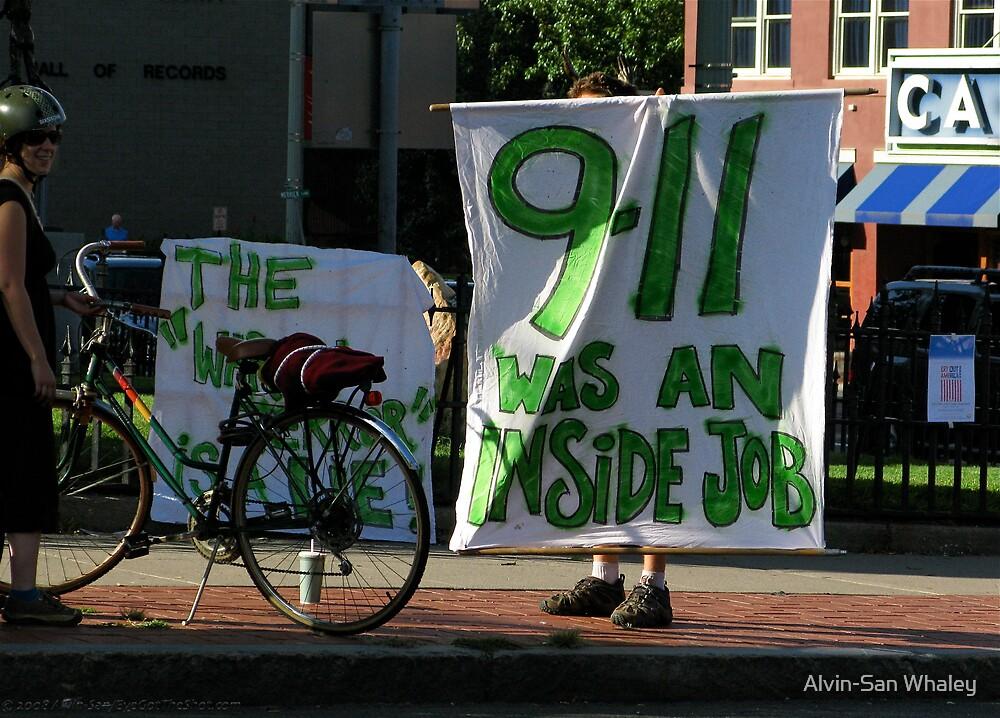 9/11: Inside Job by Alvin-San Whaley