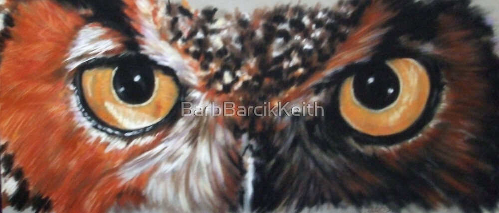 Bubo Virginianus by BarbBarcikKeith