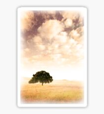 Old Landscape Sticker