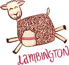 Lambington - Pink by makemerriness