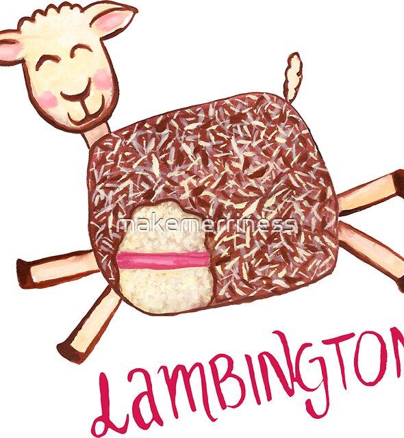 Lambington - Pink by makemerriness