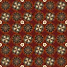Marsala Mandala Mix by Ruth Palmer
