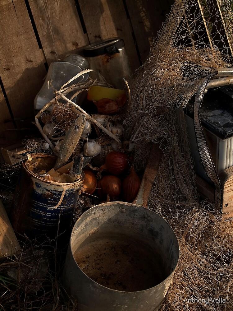 Farm trash by Anthony Vella