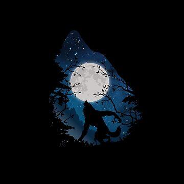 Negawolf by Triluen