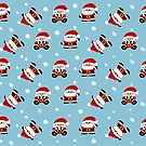 Tiny Santa Claus by Sonia Pascual