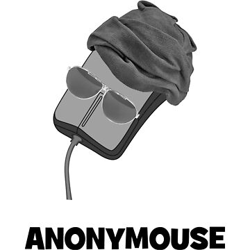 Anonymouse the Anonymous Computer Mouse by CafePretzel