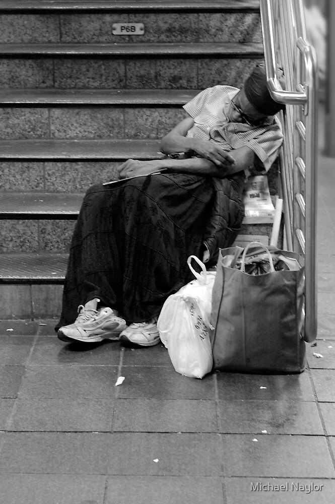 Bag Lady by Michael Naylor