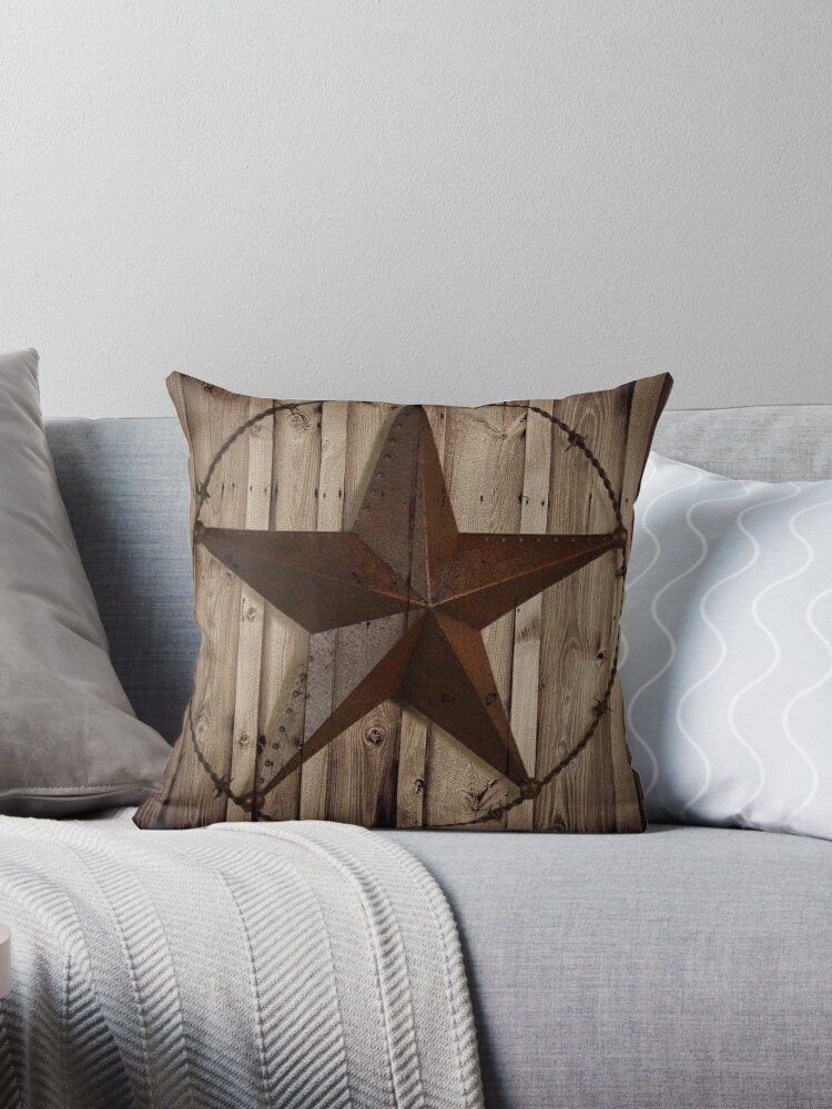 primitive western country barn wood grunge texas star  by lfang77