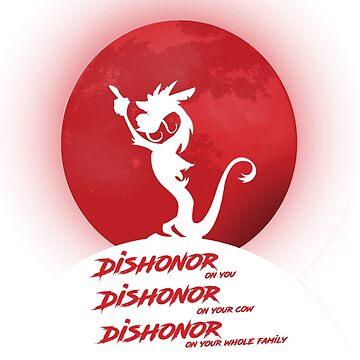 Dishonor!  by KarmaMek