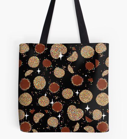 Choclate Freckles in Space Tote Bag