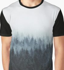 High And Low Grafik T-Shirt