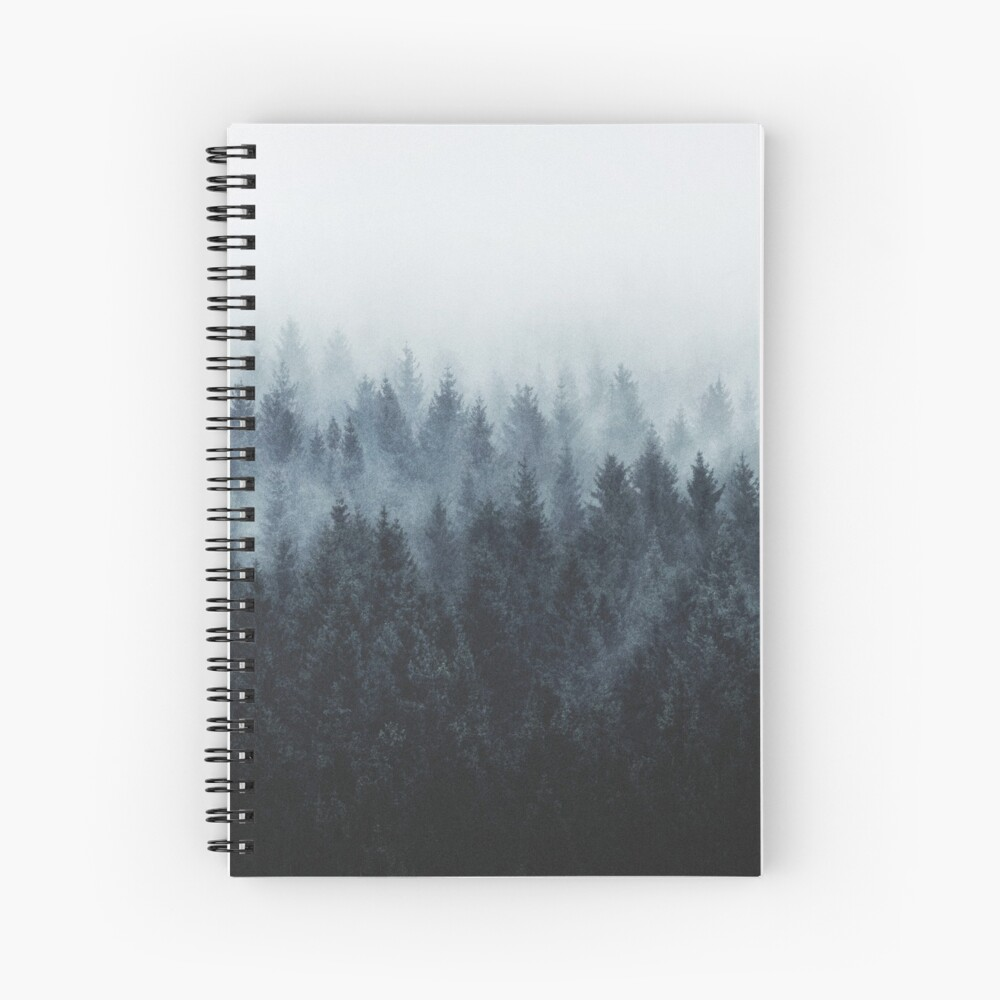 High And Low Spiral Notebook