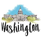 Washington by creativelolo