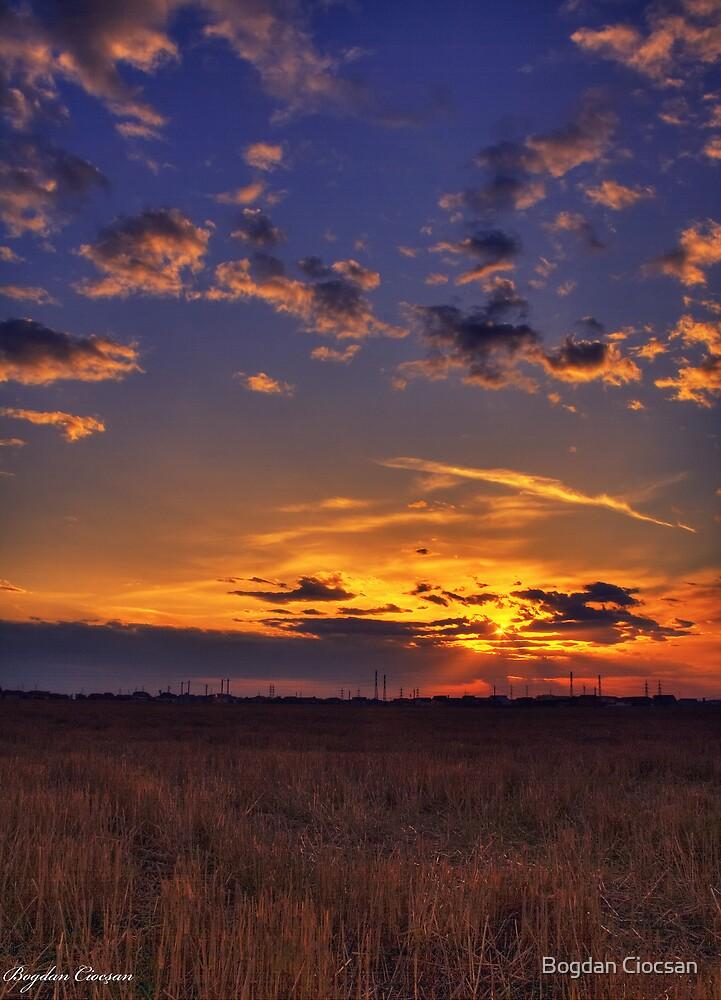 Colorful Sunset by Bogdan Ciocsan
