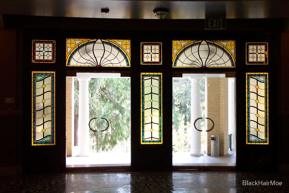 Grand Entrance by BlackHairMoe