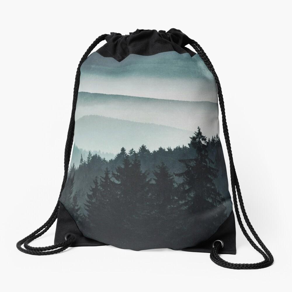 Mountain Light Drawstring Bag