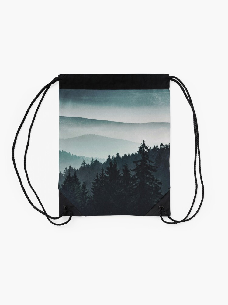Alternate view of Mountain Light Drawstring Bag