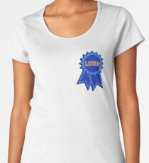 Loser Ribbon Women's Premium T-Shirt
