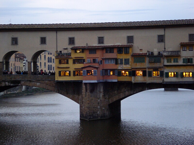Florence, Ponte Vecchio by nodirection