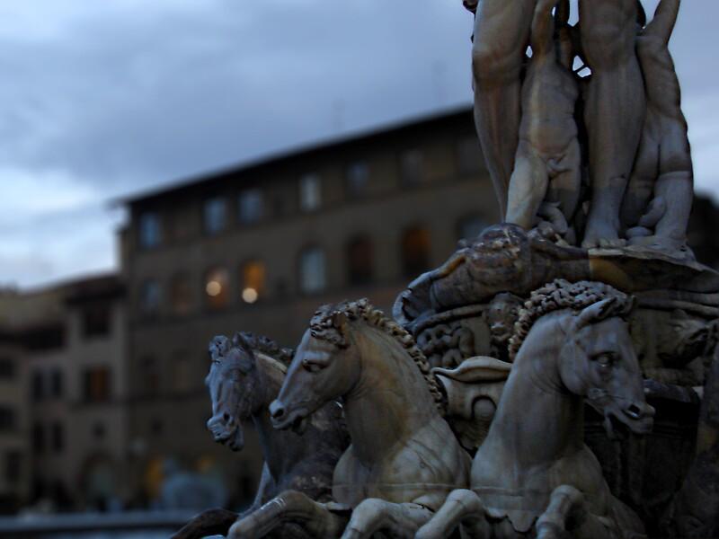 Florence, Piazza della Signoria by nodirection