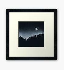 Under Moonlight Framed Print